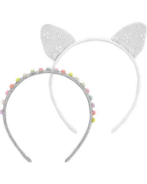 2-Pack Cat Ears Headband