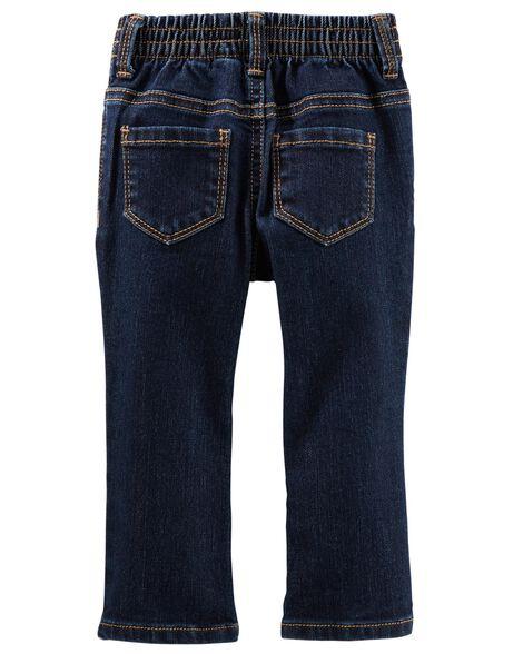 Jeans botte étroite  - délavage héritage