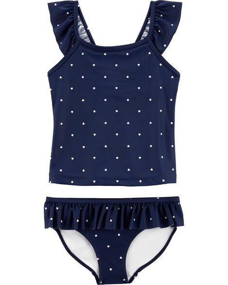 Carter's Heart 2-Piece Swimsuit