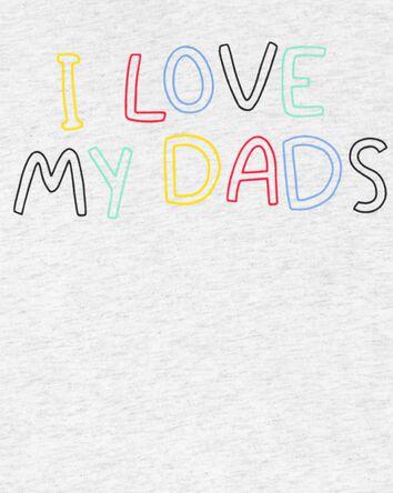 Love Dad Jersey Tee
