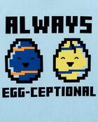 T-shirt en jersey Egg-Ceptional, , hi-res