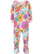 1-Piece 100% Snug Fit Cotton Footie PJs, , hi-res