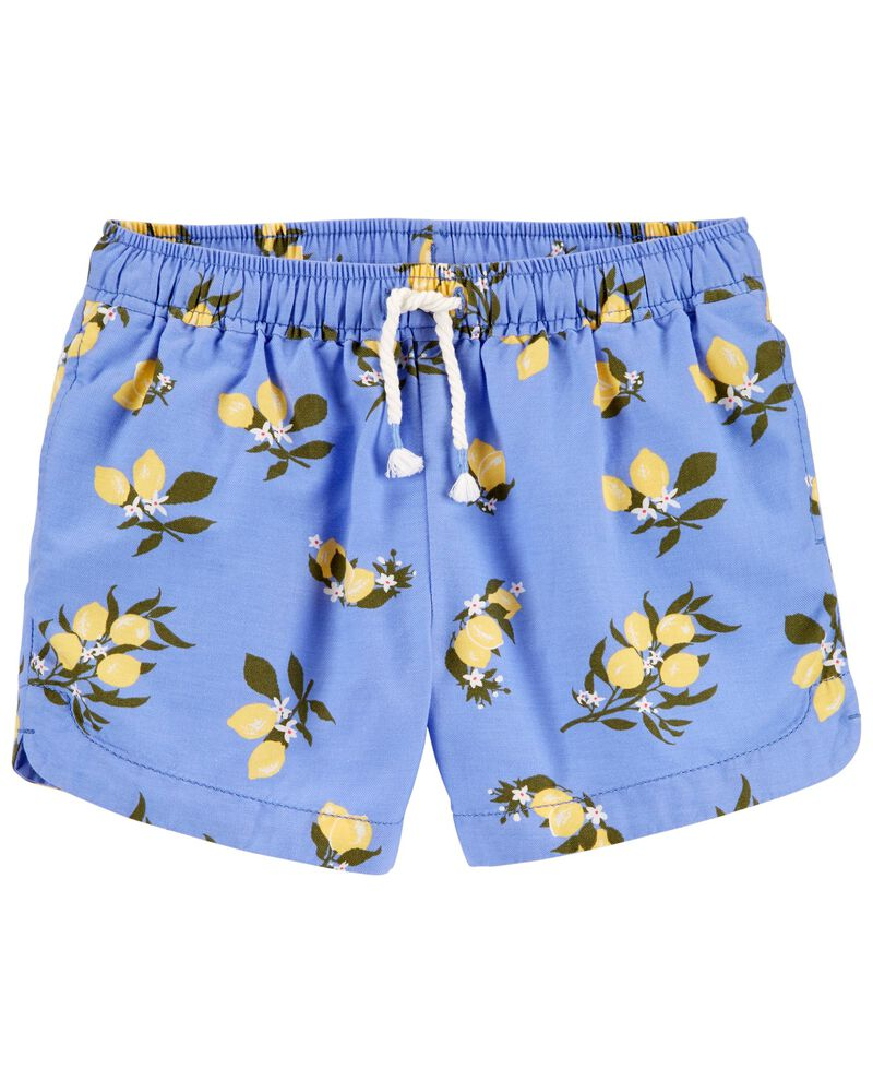 Lemon Sun Shorts, , hi-res