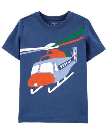 T-shirt en jersey hélicoptère