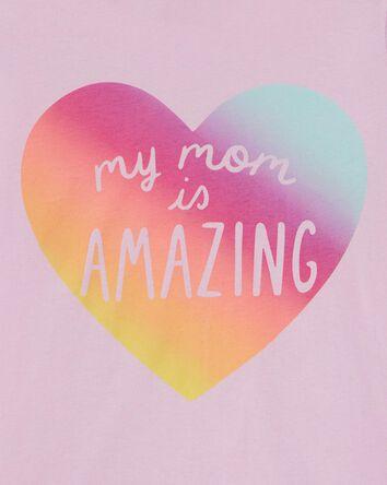 Mom Is Amazing Jersey Tee