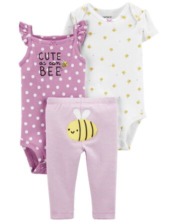 3-Piece Bee Little Character Set