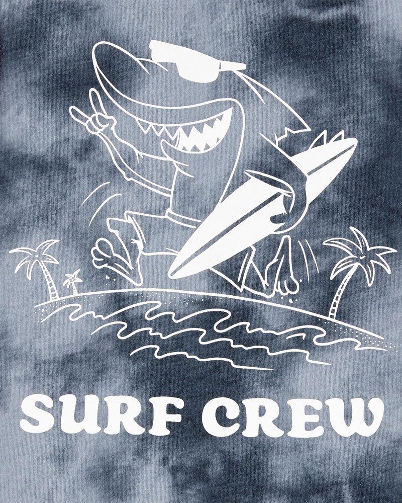 Haut sans manches à requin teint sur nœud, , hi-res