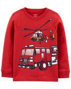 Firefighter Jersey Tee, , hi-res