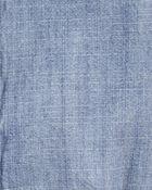 Cache-couche boutonné en chambray, , hi-res
