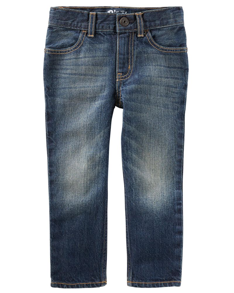 Straight Jeans - Anchor Dark Wash, , hi-res