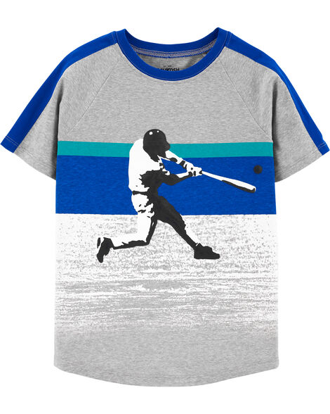 Baseball Active Tee