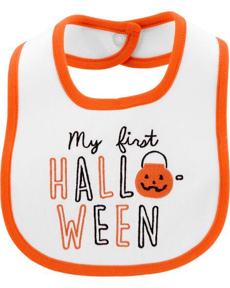 Bavoir de dentition Première Halloween