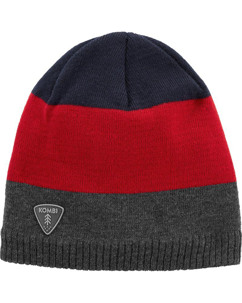 Fleece-Lined Fling Stripe Beanie, , hi-res