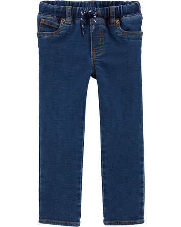 Pantalon en denim à enfiler