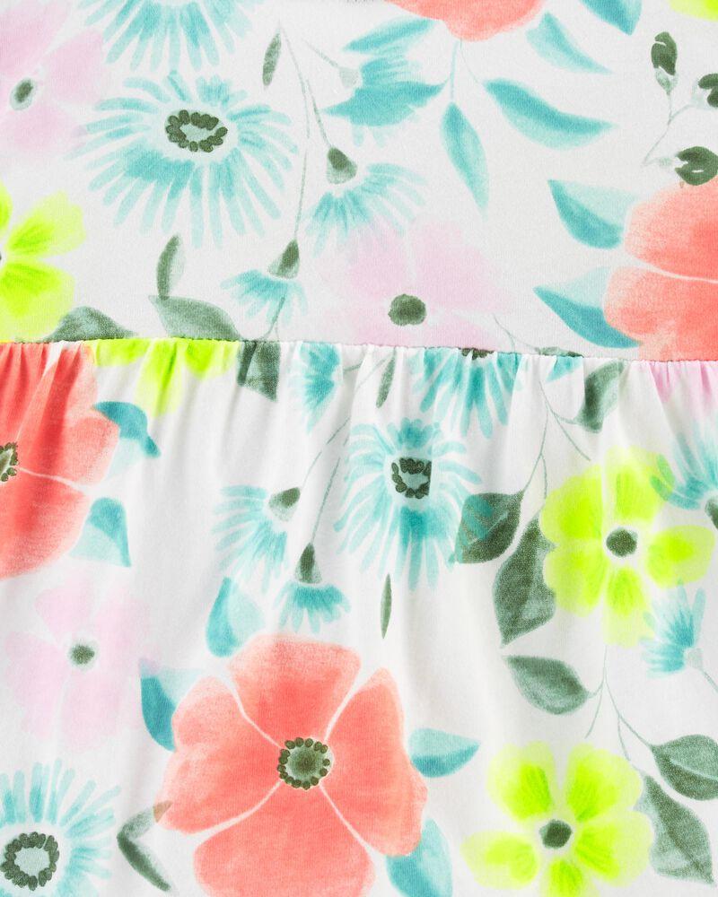 Floral Jersey Top, , hi-res