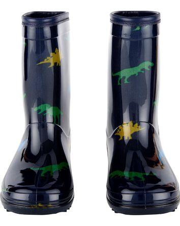 Bottes de pluie à motif dinosaure
