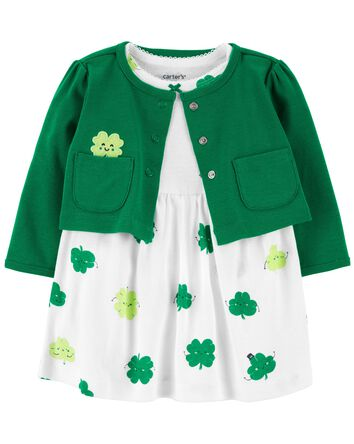 2-Piece St. Patrick's Day Bodysuit...