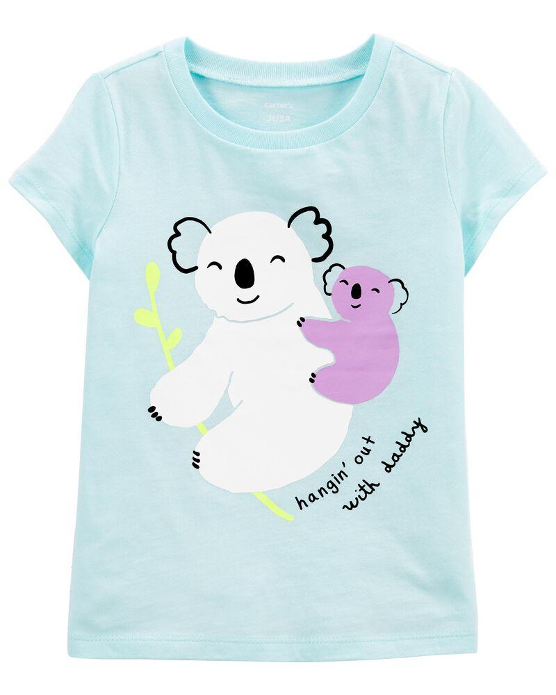 T-shirt en jersey à koala, , hi-res