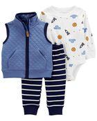 3-Piece Little Vest Set, , hi-res