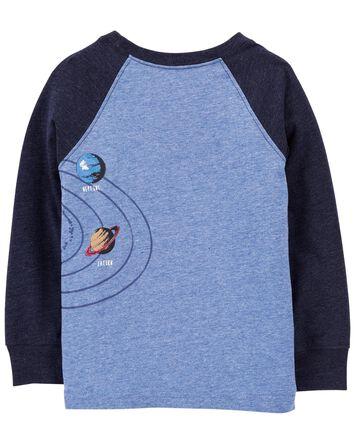 T-shirt du système solaire