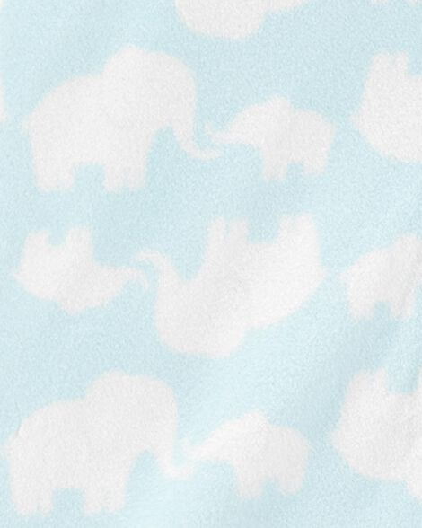 Elephant Fleece Sleep Bag