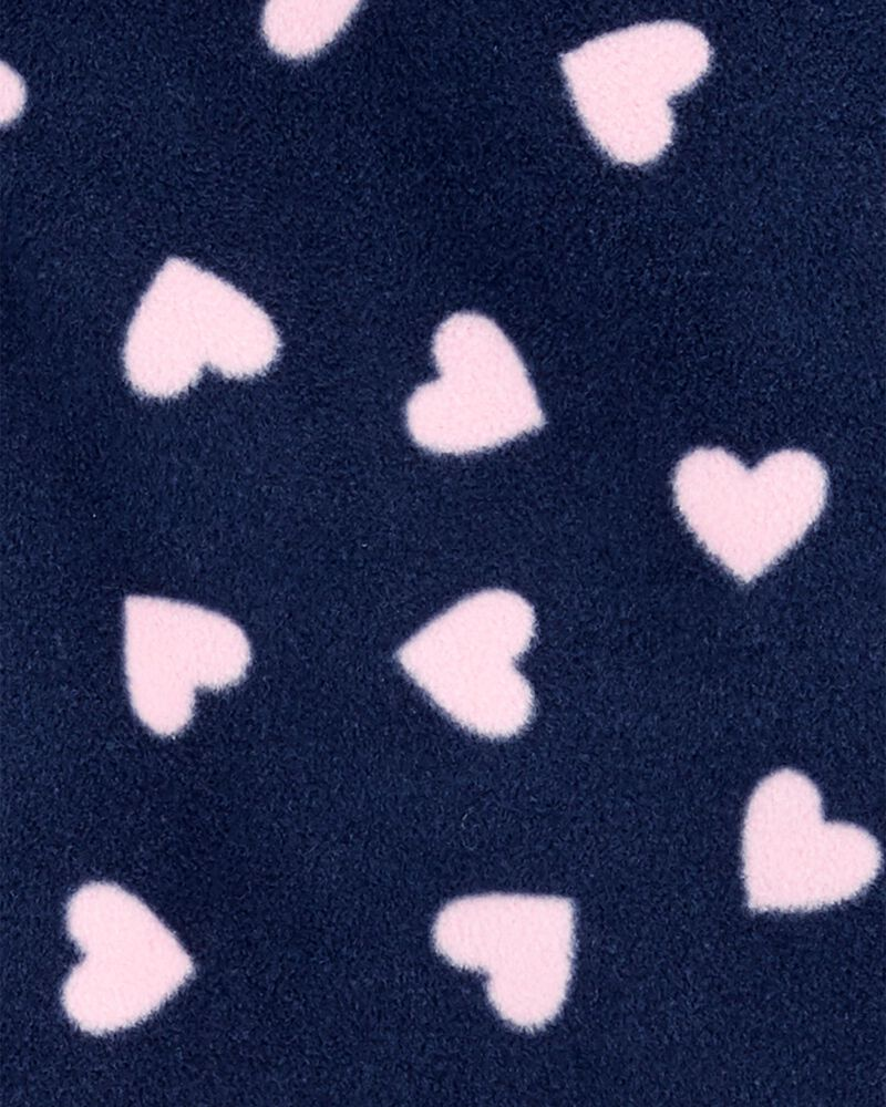 Heart Fleece Pullover, , hi-res