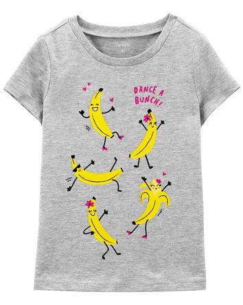 T-shirt en jersey avec bananes qui...