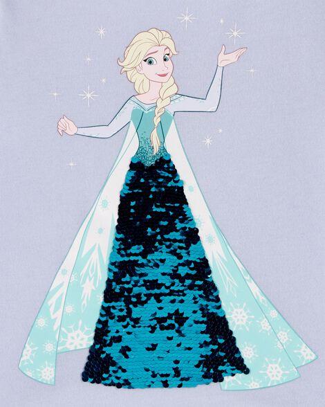 T-shirt Elsa avec paillettes réversibles