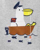 2-Piece Pelican Jersey Tee & Short Set, , hi-res