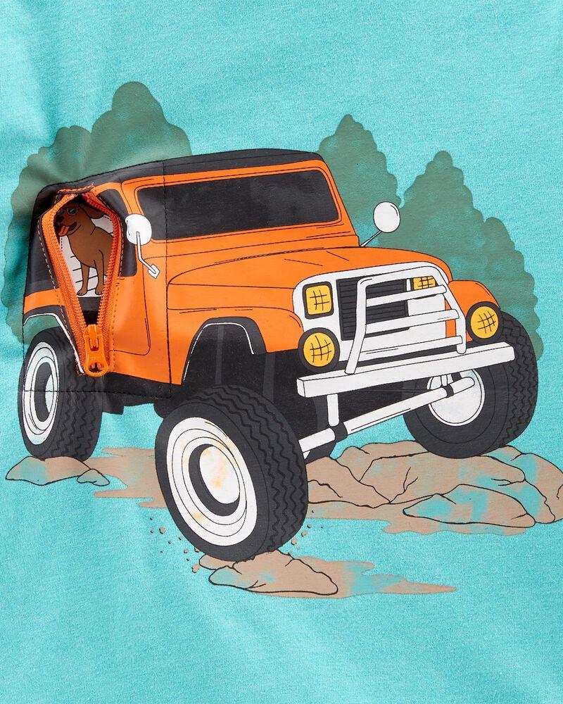 Truck Peek-A-Boo Jersey Tee, , hi-res