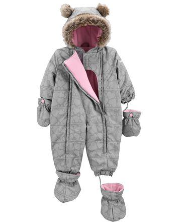 Habit de neige 1 pièce pour bébé