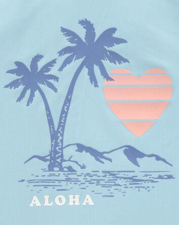 Aloha Palms Rashguard Set