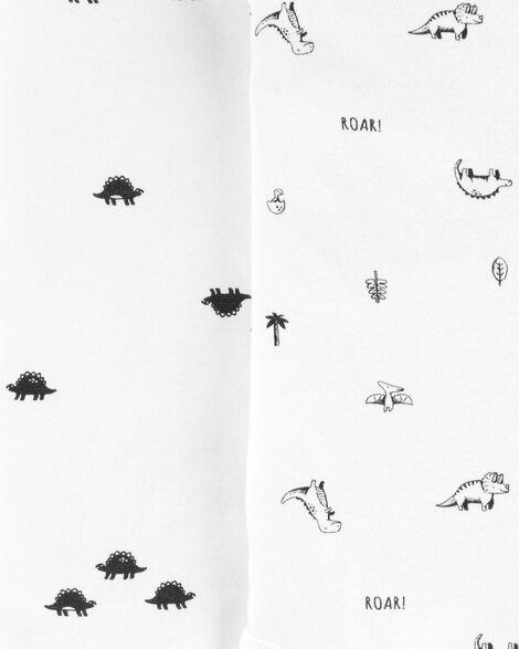 Emballage de 5 cache-couches originaux motif dinosaure
