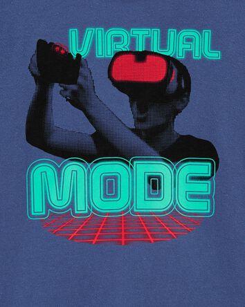 T-shirt en jersey Virtual Reality
