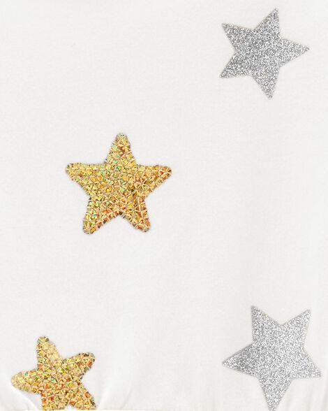 Robe des fêtes à étoiles