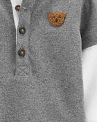 2-Piece Polar Bear Bodysuit Pant Set, , hi-res