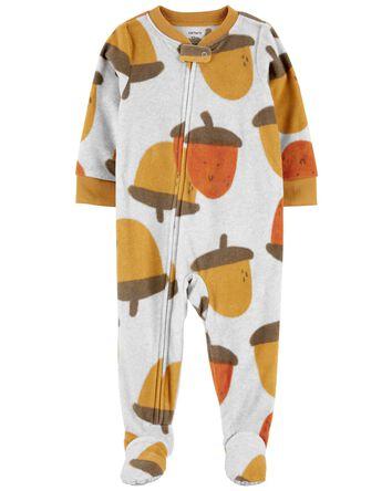 Pyjama 1 pièce en molleton à pieds...