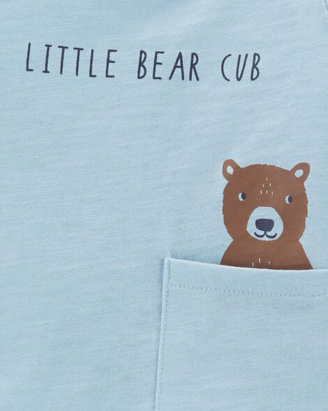 3-Piece Bear Little Short Set