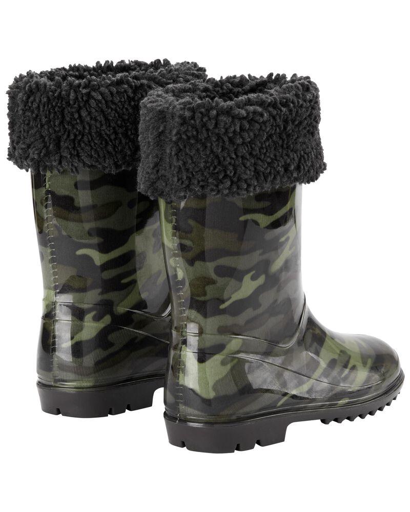 Camo Rain Boots, , hi-res