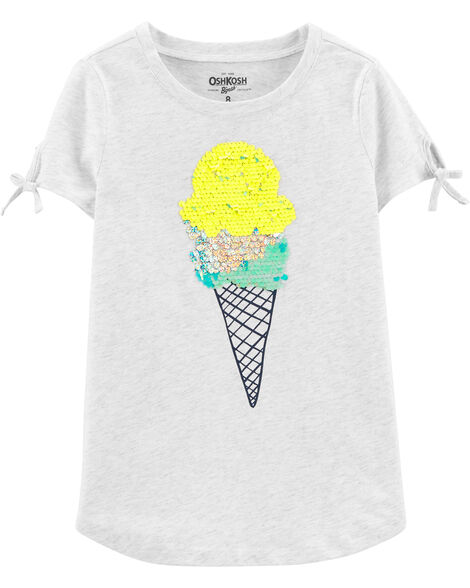 Ice Cream Sequin Tee