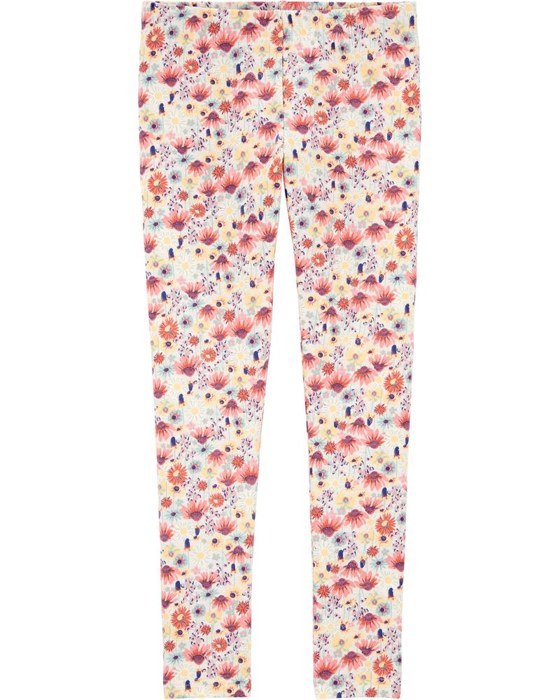 Heritage Floral Jersey Leggings, , hi-res