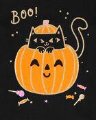 T-shirt en jersey scintillant d'Halloween, , hi-res