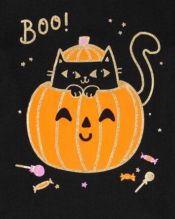 Glitter Halloween Jersey Tee