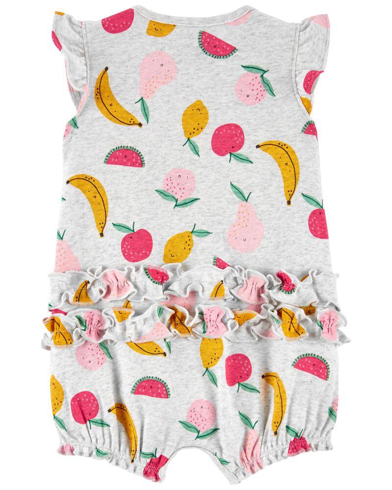 Fruit Snap-Up Romper, , hi-res