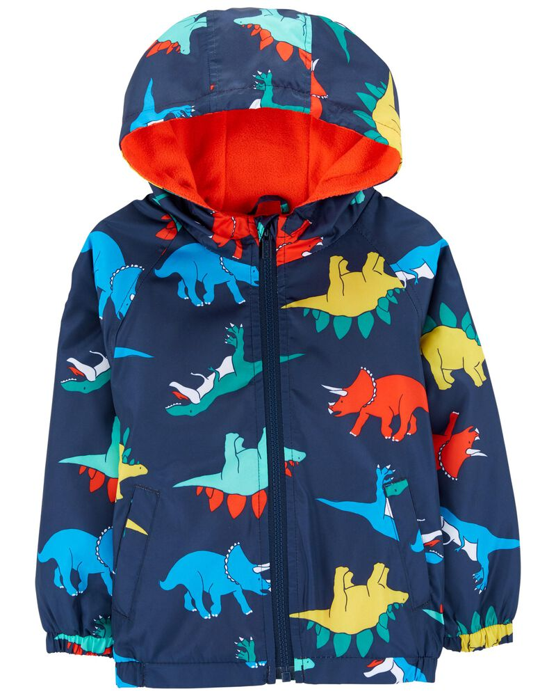 Dinosaur Jersey-Lined Windbreaker, , hi-res