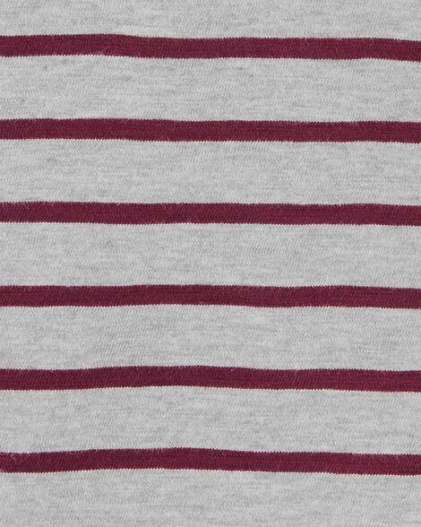 Striped Slub Henley
