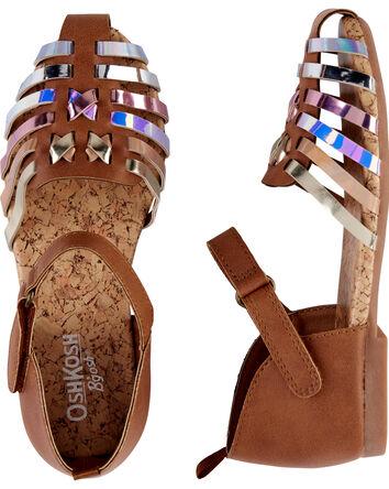 OshKosh Metallic Sandals