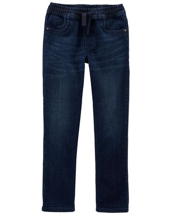 Tapered Relaxed Pull-on Jeans in Ye...
