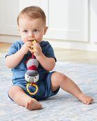 Zebra Bandana Buddies Chime & Teethe Toy, , hi-res