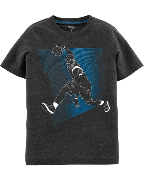 T-shirt de basketball chiné